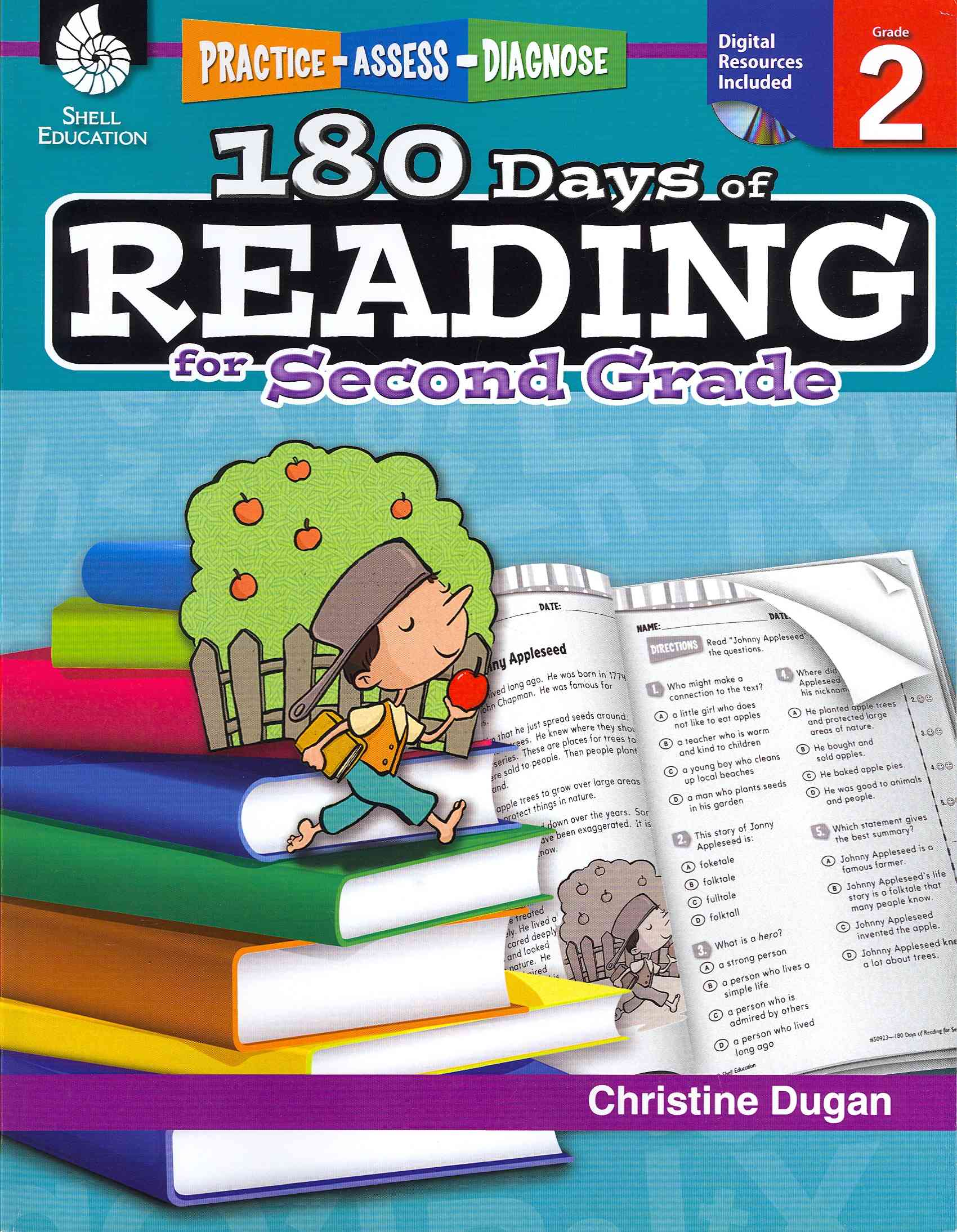 180 Days of Reading for Second Grade By Dugan, Christine